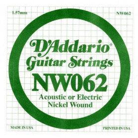 D`ADDARIO NW062 XL Nickel Wound 062 Струны