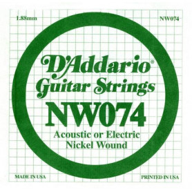D`ADDARIO NW074 XL Nickel Wound 074 Струны