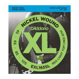 D`ADDARIO EXL165SL XL REG LIGHT TOP /  MED BOTTOM 45-105 Струны