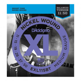 D`ADDARIO EXL115BT XL NICKEL BALANCED TENSION, MEDIUM (11-50) Струны