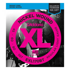 D`ADDARIO EXL170BT XL BALANCED TENSION BASS REG. LIGHT 45-107 Струны