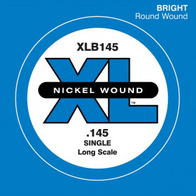 D`ADDARIO XLB145 XL NICKEL ROUND WOUND SINGLE 145 Струны