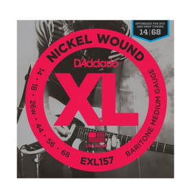 D`ADDARIO EXL157 XL BARITONE MEDIUM (14-68) Струны