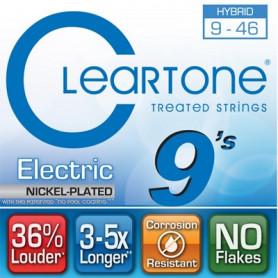 CLEARTONE 9419 ELECTRIC NICKEL-PLATED HYBRID 09-46 Струны с покрытием для электрогитары
