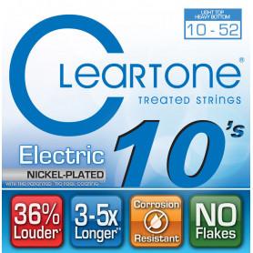 CLEARTONE 9420 ELECTRIC NICKEL-PLATED HEAVY BOTTOM 10-52 Струны с покрытием для электрогитары