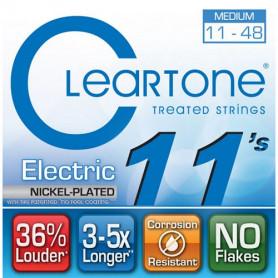 CLEARTONE 9411 ELECTRIC NICKEL-PLATED MEDIUM 11-48 Струны с покрытием для электрогитары