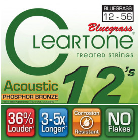CLEARTONE 7423 ACOUSTIC PHOSPHOR BRONZE BLUEGRASS 12-56 Струны