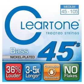 CLEARTONE 6445 BASS NICKEL-PLATED MEDIUM 45-105 Струны с покрытием для басгитары