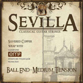 CLEARTONE 8442 SEVILLA BALL END MEDIUM TENSION Струны