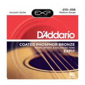 D`ADDARIO EXP17 EXP PHOSPHOR BRONZE MEDIUM 13-56 Струны для акустической гитары
