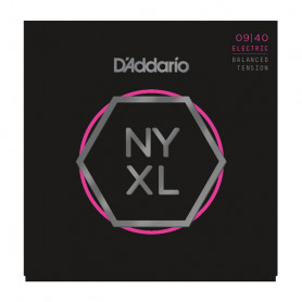 D`ADDARIO NYXL0940BT NYXL BALANCED TENSION SUPER LIGHT 09-40 Струны