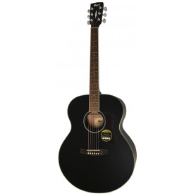 CORT CJ-MEDX (Black Satin) Электро-акустическая гитара фото