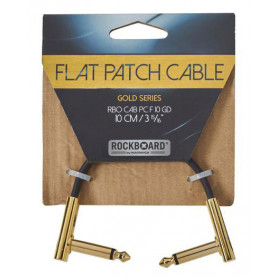 ROCKBOARD RBOCABPC F10 GD GOLD Series Flat Patch Cable