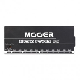 MOOER MACRO POWER S12 блок питания для педалей эффектов фото