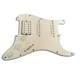 PAXPHIL 9622 PICKGUARD PANEL H-S-S WHITE Звукосниматель для гитары фото
