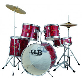 DB Percussion DB52-44 Wine Red