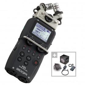 Комплект из рекордера Zoom H5 и набора аксессуаров Zoom APH5: -
