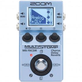 Гитарная педаль хорус/дилэй/ревербератор Zoom MS-70CDR фото