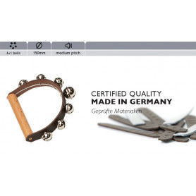Rohema Leather Handbell 6+1 bells