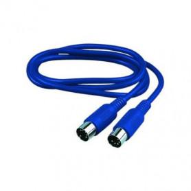 Reloop MIDI cable  5.0 m blue