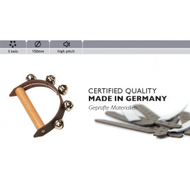 Rohema Leather Handbell 5 bells