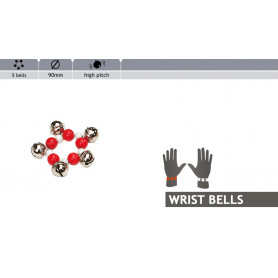Rohema Colorful Wristbell 5 Bells