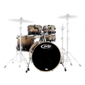 PDP PDCB2215NC CONCEPT SERIES BIRCH (NATURAL TO CHARCOAL FADE) Ударная установка фото