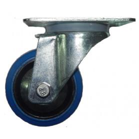 FREE CASE W03 (37081), Колесо без тормоза 80 мм синее фото