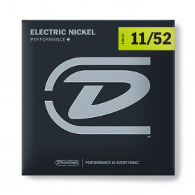DUNLOP DEN1152 ELECTRIC NICKEL PERFORMANCE+ 11-52 Струны для