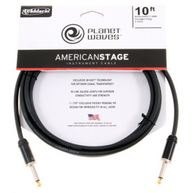 PLANET WAVES PW-AMSG-10 AMERICAN STAGE 10ft Кабель фото
