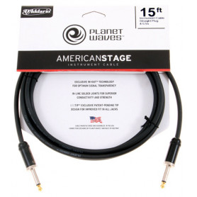 PLANET WAVES PW-AMSG-15 AMERICAN STAGE 15ft Кабель фото