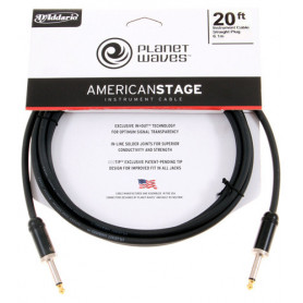 PLANET WAVES PW-AMSG-20 AMERICAN STAGE 20ft Кабель фото