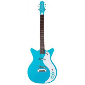 DANELECTRO 59M NOS+ (Baby Blue) Электрогитара фото