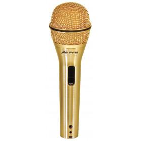 """PEAVEY PVi2G 1/4"""" (Gold) Микрофон шнуровой фото"""