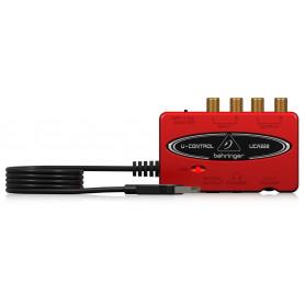 BEHRINGER U-CONTROL UCA222 Аудиоинтерфейс