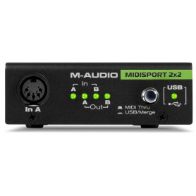 Аудиоинтерфейс M-Audio MIDISPORT 2X2
