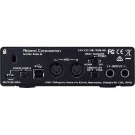 Аудиоинтерфейс Roland Rubix22 USB