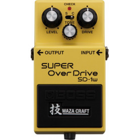 Педаль эффектов BOSS SD-1W Super OverDrive