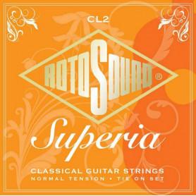 Струны ROTOSOUND CL2 Superia Classical Nylon Tie On