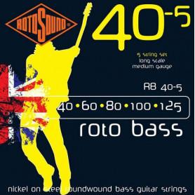 Струны ROTOSOUND RB40-5
