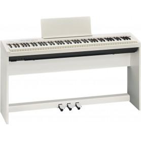 Цифровое фортепиано ROLAND FP-30-WH+S (со стойкой)