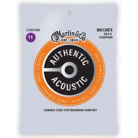 MARTIN MA130FX Authentic Acoustic Flexible Core Silk & Phosphor