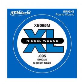 D`ADDARIO XB095M XL Nickel Wound Medium Scale 095 Струна для