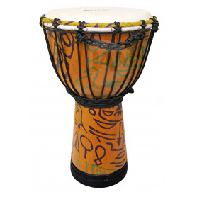 "MAXTONE ADJ40B Abstract Cloth Djembe 8"" Джембе"