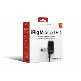 IK MULTIMEDIA iRig Mic Cast HD Микрофон для iOS/Android фото