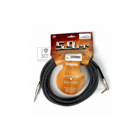 KLOTZ 59 VINTAGE PRO GUITAR CABLE ANGLED 6 M Кабель