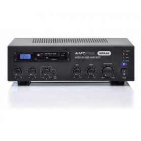 AMC MPA 60 amplifier with audio player and FM tuner