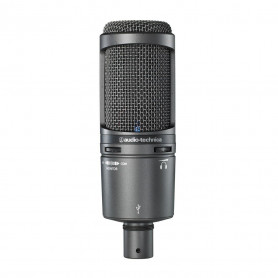 Студийный микрофон Audio Technica AT2020USB+, конденсаторный
