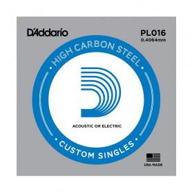 D`ADDARIO PL016 Plain Steel 016 Струна