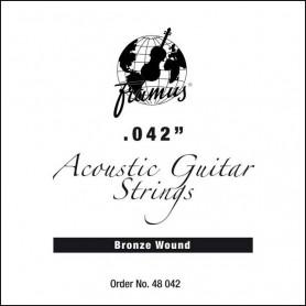 FRAMUS 48042 BRONZE 042 Струна для гитары